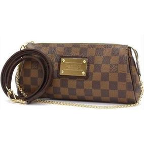 bcee26b43 Bolsa Eva Clutch Louis Vuitton Original - Bolsas no Mercado Livre Brasil