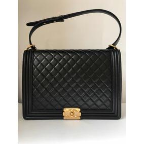 7f2f51e71 Bolsa Chanel Imitacion Negra - Bolsas Negro en Mercado Libre México