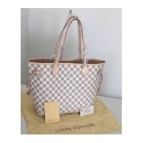 41f1846002 Neverfull Original - Bolsas Louis Vuitton Blanco en Distrito Federal en  Mercado Libre México