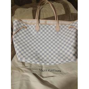 7a2a7ad32 Bolsa Luisvuutton Neverfull Clon - Bolsas Louis Vuitton Blanco en Distrito  Federal en Mercado Libre México