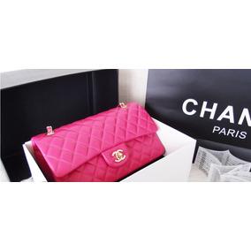 9ad1eae68 Bolsa Chanel Rosa Claro no Mercado Livre Brasil