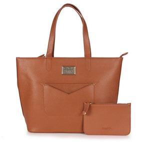 b66359ec9bd7b Bolsa Tote Bag Com Carteira Classic Boop Betty Boop Caramelo