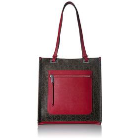 21a2a52612601 Bolsa Cafe Calvin Klein Original Logo - Equipaje y Bolsas en Mercado ...