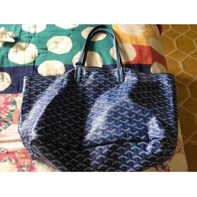 0ff1bc3d4ded6 Bolsa Imitación Goyard Azul