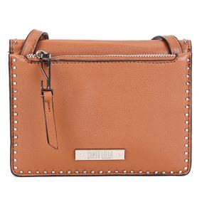 8886b9cfc5 Bolsa Santa Lolla Mini Bag Rebites Feminina Caramelo - 17c4
