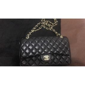 703dee8dd8666 Bolsa Chanel Preta Réplica - Bolsa Chanel Femininas no Mercado Livre ...