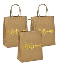 1ee1448ce Bolsas De Papel Kraft Para Boutique $ 3.50 en Mercado Libre México