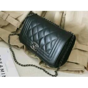 f20bf917e Bolsa Chanel Inspired Em Couro Branca - Calçados, Roupas e Bolsas no ...