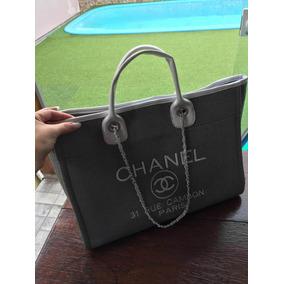 2278d8590e1 Bolsa Chanel Sacola - Réplica Primeira Linha