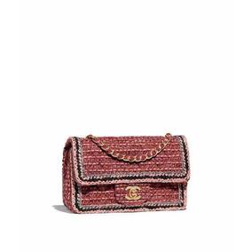 e1e1ec5fb Bolsa Praia Channel - Bolsas Chanel de Tecido Femininas no Mercado ...