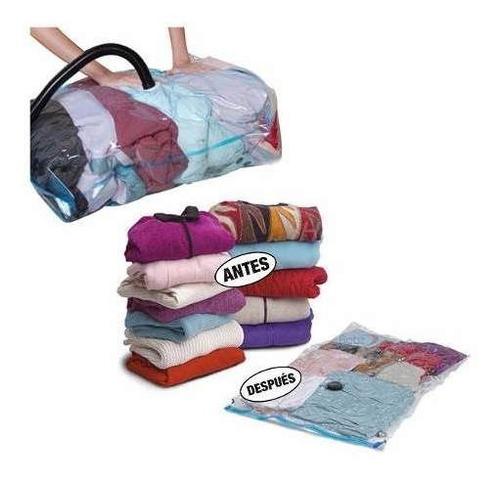 bolsas al vacio o space bags reduce el espacio