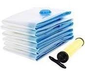 bolsas al vacio para ropa de 60 x 80 cm x 5 unidades