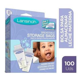 Bolsas Almacenamiento Leche Materna Lansinoh | 100 Unidades