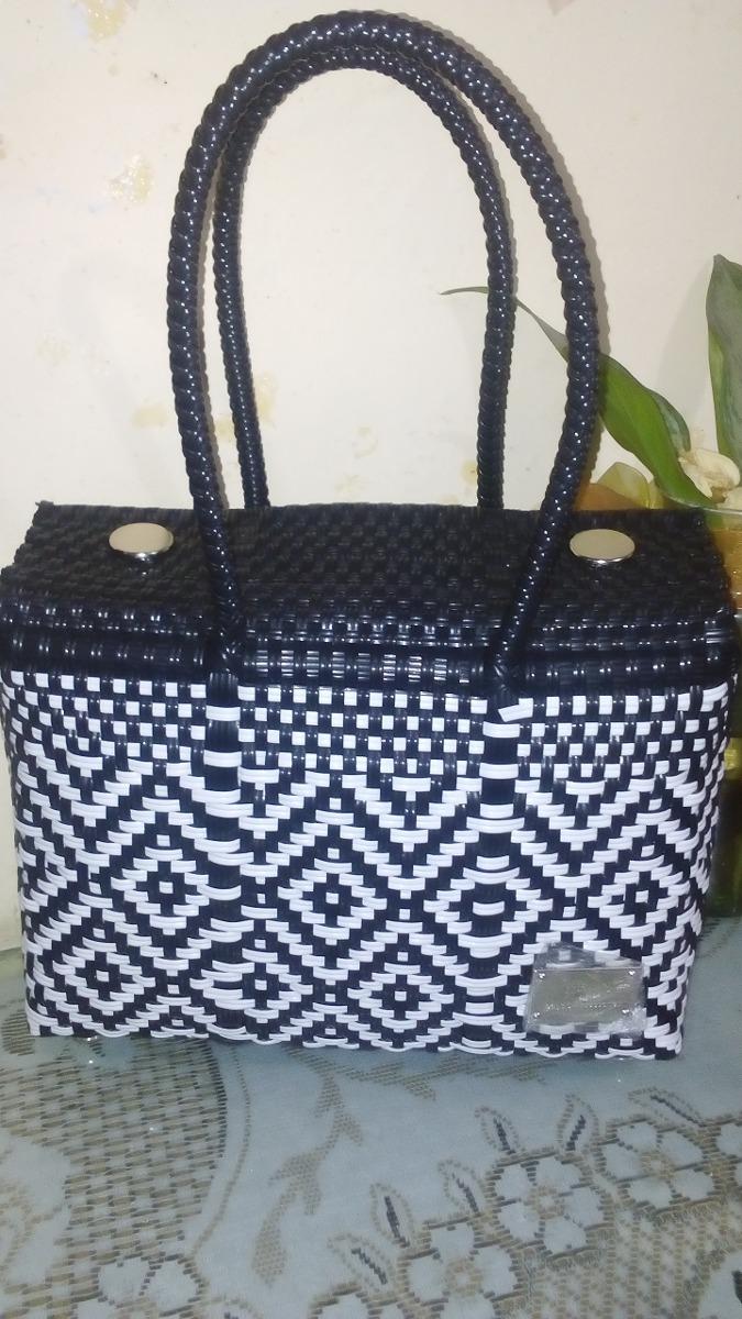 Bolsas Artesanales De Plastico Tejido -   110.00 en Mercado Libre 2d9f48f84ec1