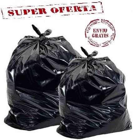bolsas basura 40kg calibre 14 (envio gratuito)