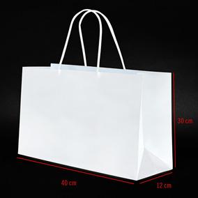 f8429eeee Bolsas De Cartulina Blanca - Industrias y Oficinas en Mercado Libre  Argentina