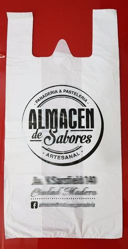 bolsas camiseta 40x60 impresas con tu logo