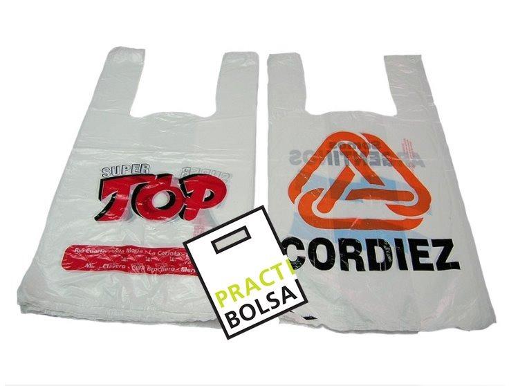 abd98c204 Bolsas Camiseta Impresas Logo Fabrica Polietileno Plasticas - $ 1,60 ...