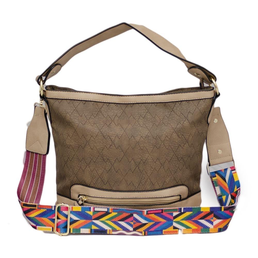 fb715336dd bolsas carteiro saco com alça estampada colorida e carteira. Carregando  zoom.