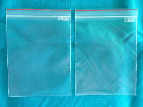 bolsas con cierre hermetico tipo ziplock  paq de 100 unid