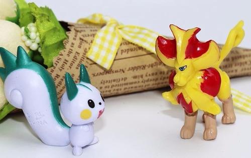 bolsas conteniendo 10 pokemón 5-6,5 cm  elección listado