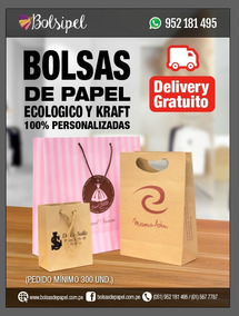 2a064ca46 Bolsas Publicitarias De Papel en Mercado Libre Perú