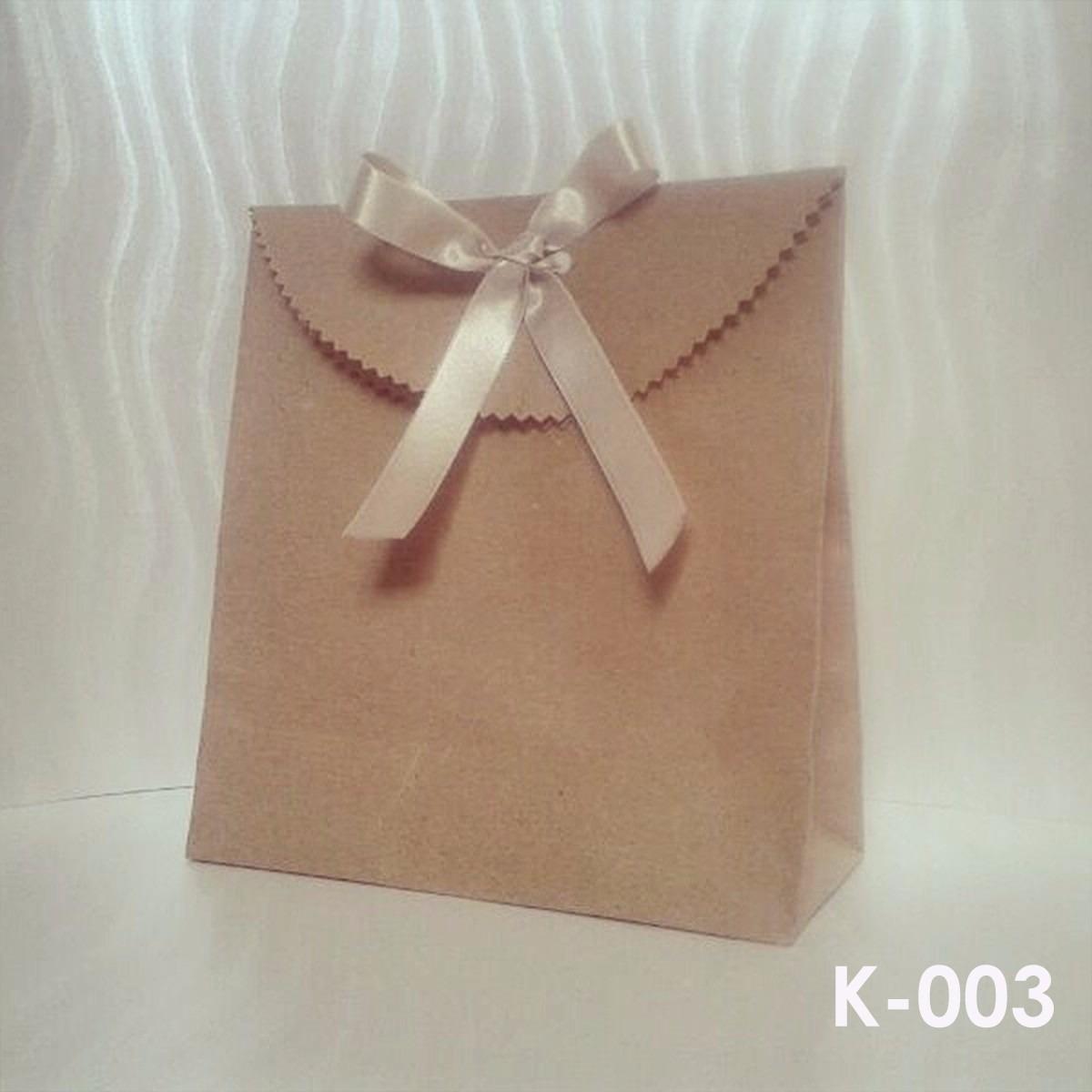 b9cb96a52 Bolsas Creativas Para Regalos 3 - Papel Kraft (paquete) - Bs. 0,13 en  Mercado Libre