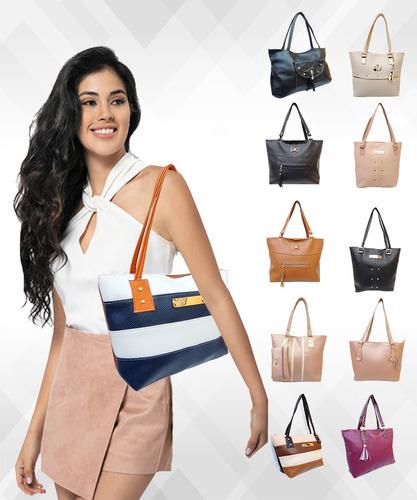bolsas dama bolsos lote mayoreo 10 mujer economicas bonitas