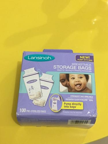 bolsas de almacenamiento de leche materna lansinoh