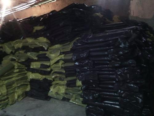 bolsas de basura trasparentes 40 kg negras y 30 litros.