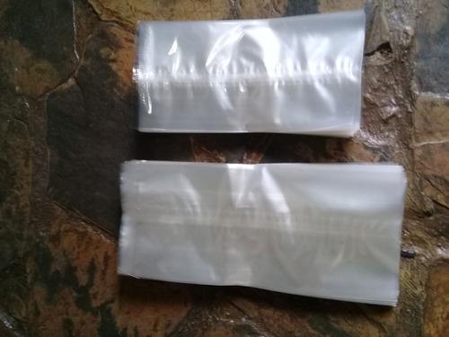 bolsas de celofan , 8x13cm. para condimentos el millar