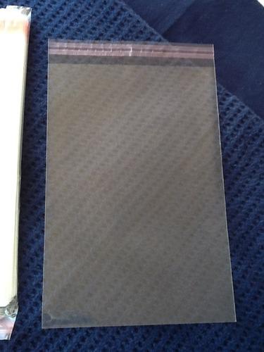 bolsas de celofán con solapa adhesiva 17x20cm