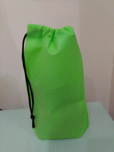 bolsas de friselina 20x15 cordon aptas para sublimar