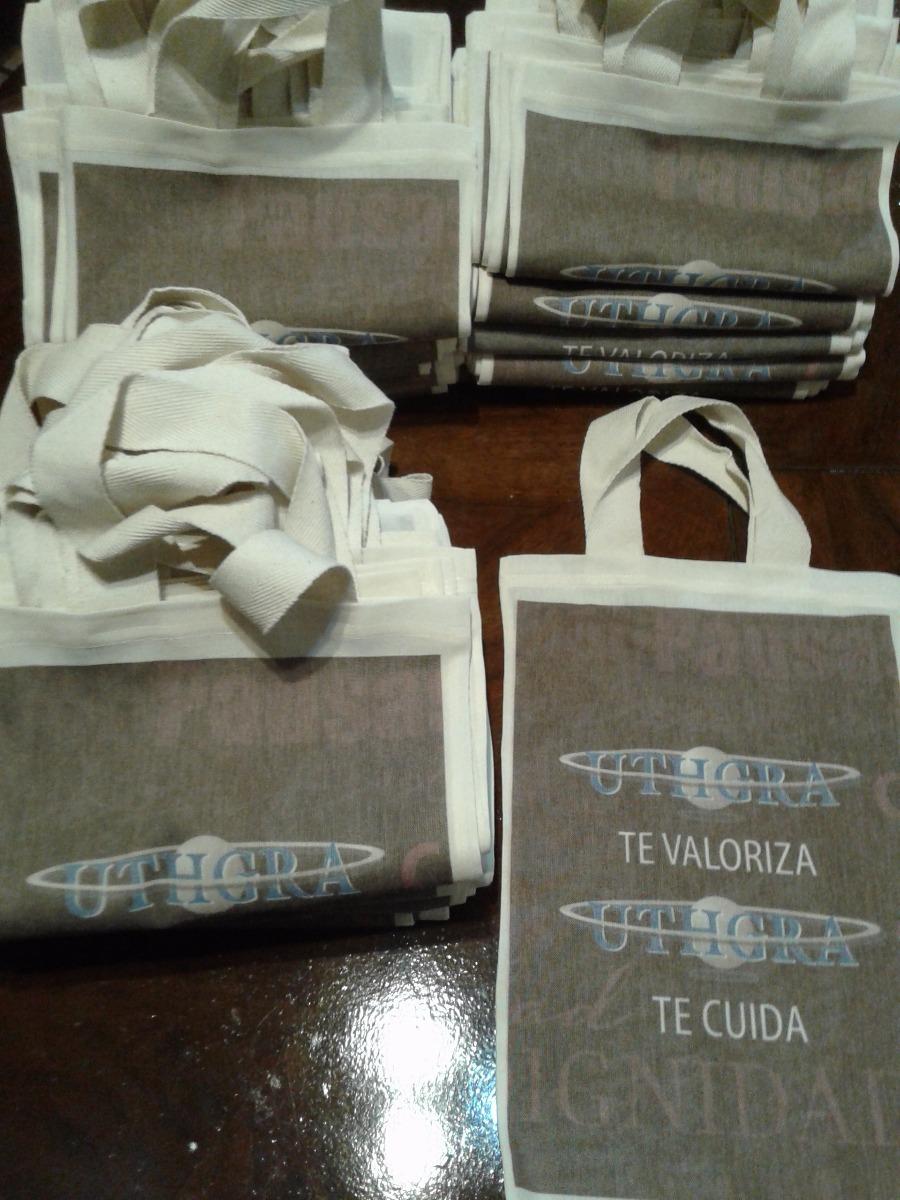 7fbb147ef Bolsas De Lienzo Estampadas Sublimadas 20x30 C/manijas - $ 22,50 en ...