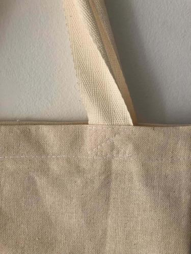 bolsas de lienzo o fliselina 35x40cm.