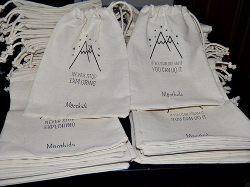 bolsas de lienzo personalizadas 15x20