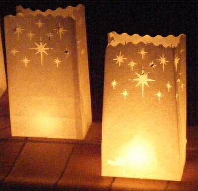 Bolsas de luz camino iluminado vela larga duraci n - Velas de larga duracion ...