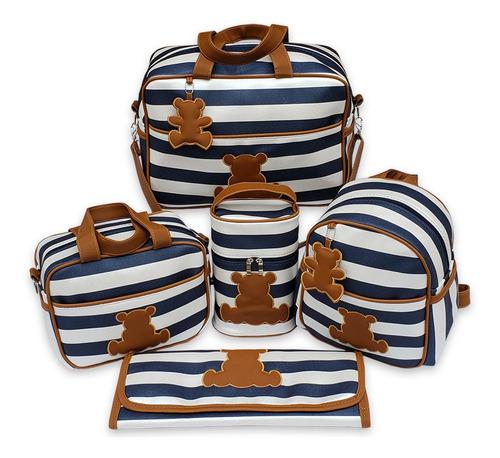 bolsas de maternidade para bebe + mochila luxo menina menino