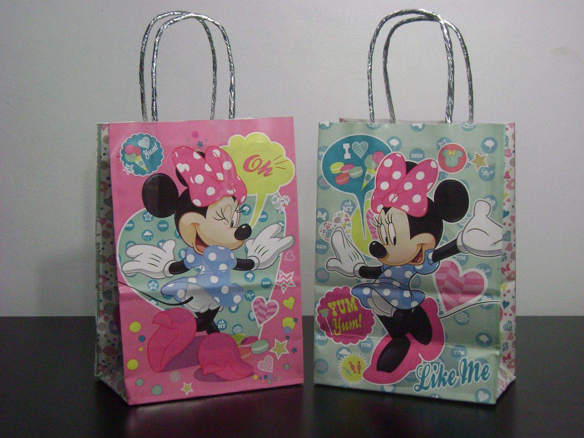 38a474d3b Bolsas De Papel 14x20 Minnie Mouse ( X10 Unidades) - $ 149,99 en ...