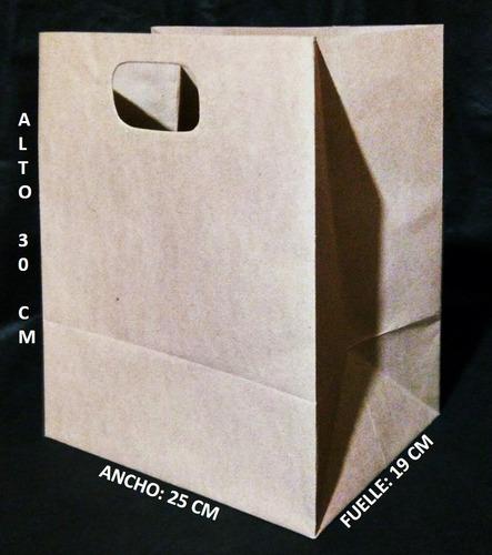 bolsas de papel a la medida: kraft, blancas, negras, otras