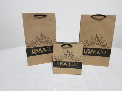 bolsas de papel / cartulina impresas