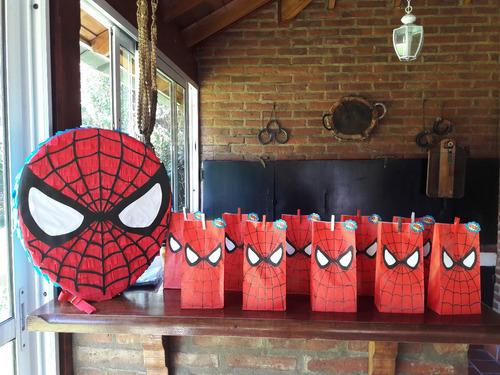 bolsas de papel decoradas, candy bar, golosineras, souvenirs