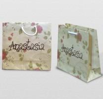 bolsas de papel impresas  medida para local