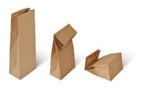 bolsas de papel kraft 80gramos - usos multiples