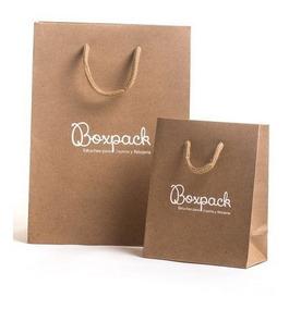 como escoger forma elegante envío directo Bolsas De Papel Kraft - Lyner - Ecologico