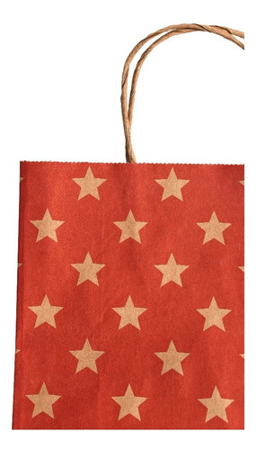bolsas de papel kraft para regalos 300 uds  23+10x32,5