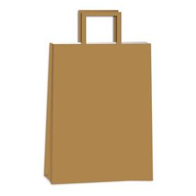 Bolsas De Papel Madera, Kraft 22x10x30 Pack X25 Unidades