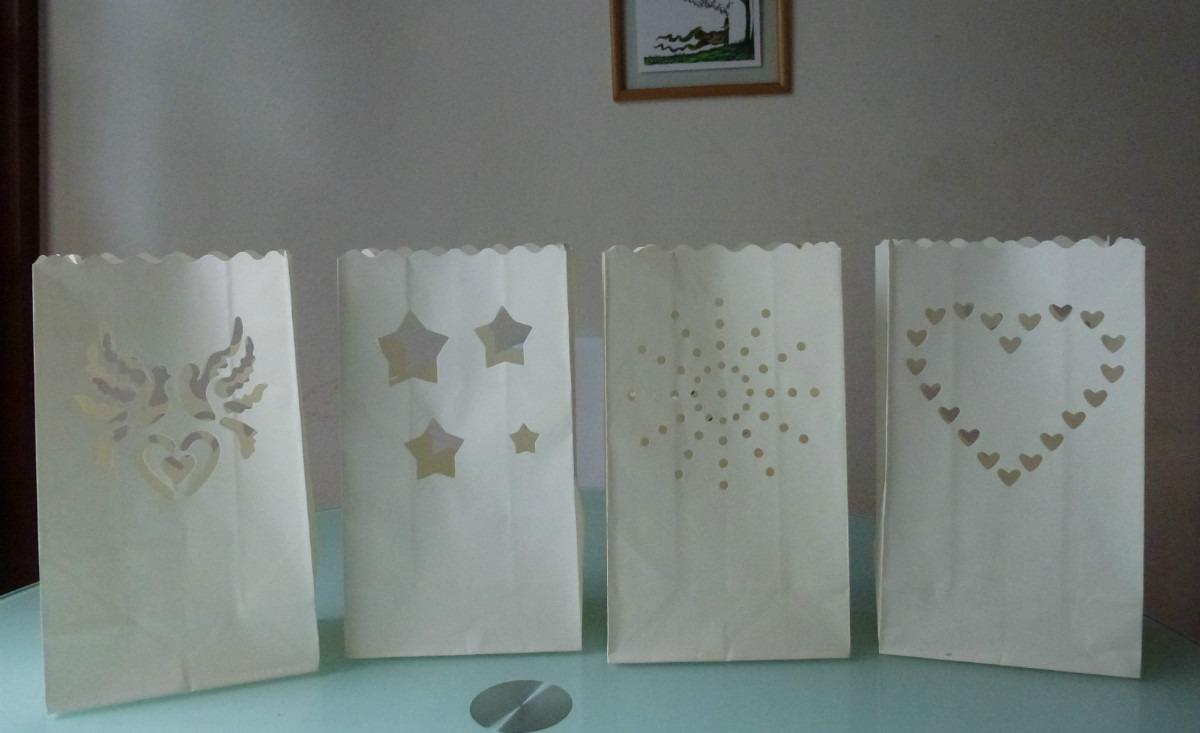 Bolsas de papel para bodas y mas candle bags s 14 50 - Bolsas de papel para velas ...