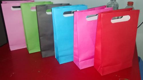 bolsas de papel para cotillones