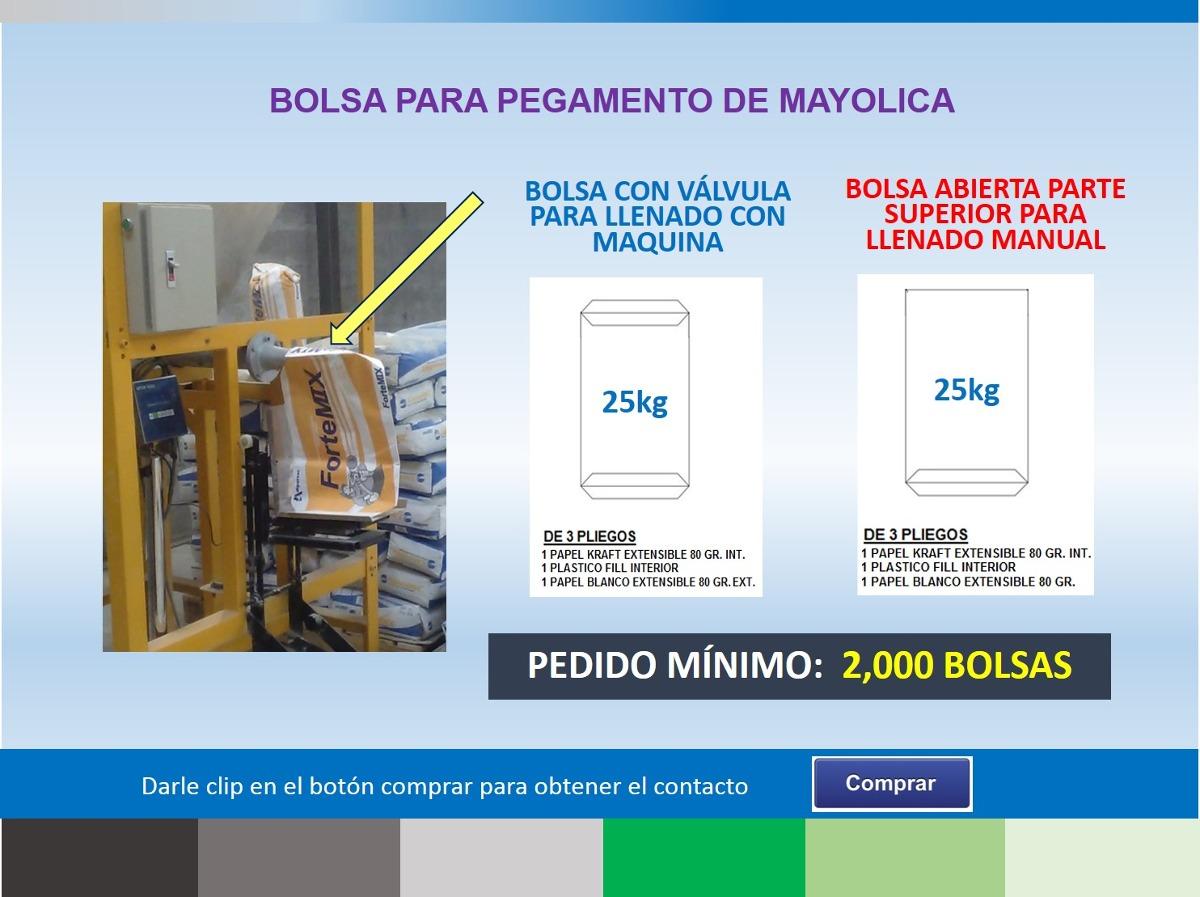 c632e1faf Bolsas De Papel Para Llenar Cemento - S/ 1,00 en Mercado Libre